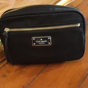 Kate Spade Nylon fanny Pack, with leather Belt